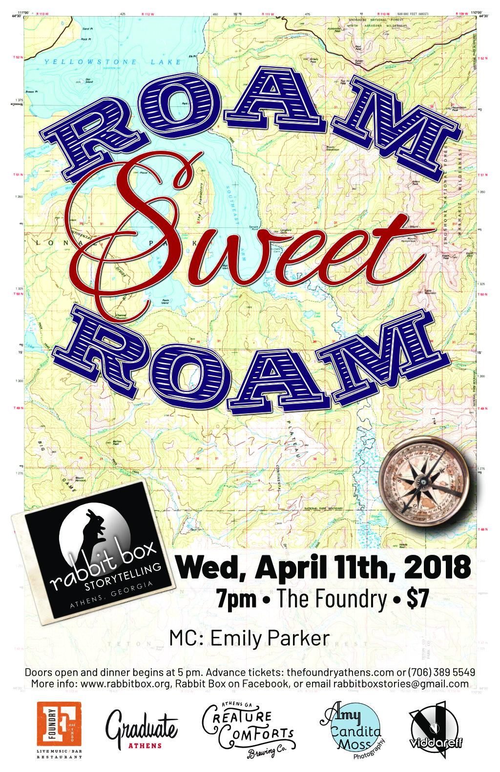 Roam Sweet Roam Poster